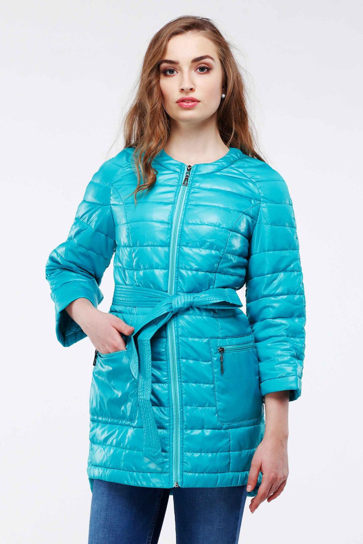 Куртка Белла - Бирюз.,AquaSky