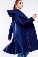 Пальто Данелия - Т.синий №5039