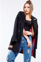 Пальто Джасти - Черный