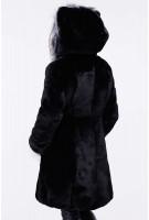 Шуба детская Патси 28-32р - Черный №6207
