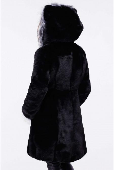Шуба детская Патси 28-32р - Черный К