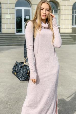 Платье 06-26 - Серо- розовый