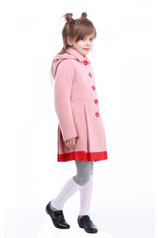 Пальто детское Милавка - Пудра H15