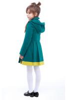 Пальто детское Милавка - Изумруд №134