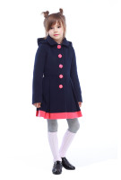 Пальто детское Милавка - Серый Н12