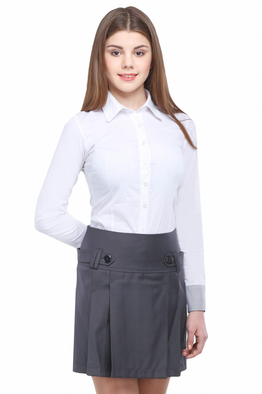 Юбка Маринка  36-42 - Серый
