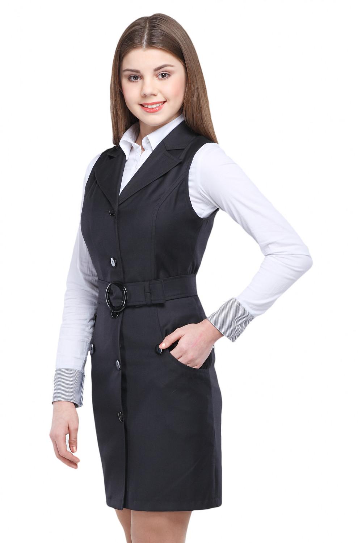 Сарафан Маринка 36-42 - Серый