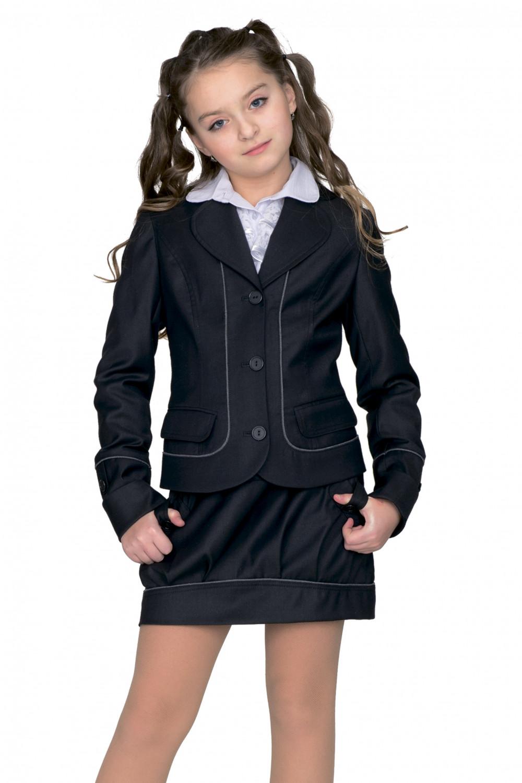 Пиджак Анютка 32-34 - Черный