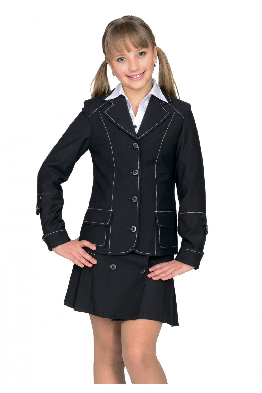 Пиджак Аринка 28-34 - Черный