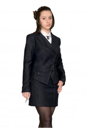 Пиджак Лика 28-34 - Черный