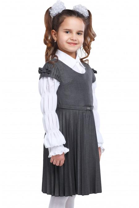 Сарафан Анфиса  28-34 - Серый