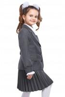 Пиджак Анфиса 36-42 - Серый
