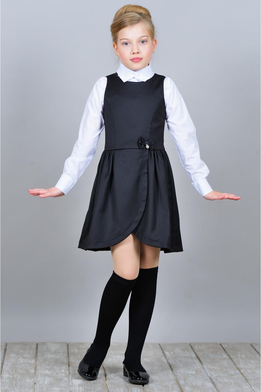 Сарафан Лилия - Черный
