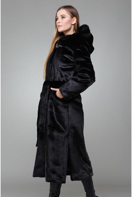 Шуба Есения (М) - Черный