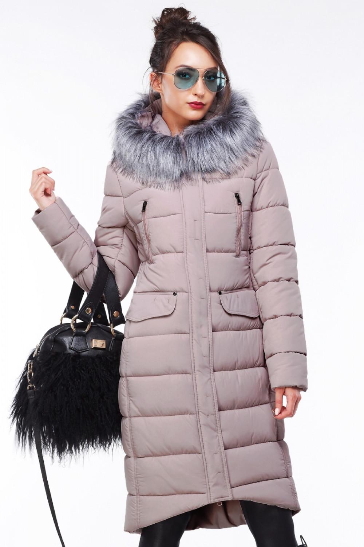 Пальто Кэт - Пудра №517