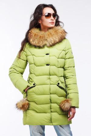 Куртка Гелана - Фисташка №3280