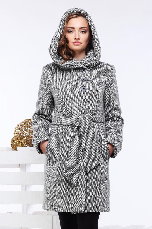 Пальто Ада - Серый №11