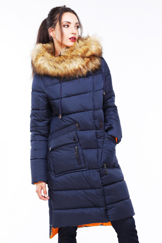 Пальто Рива 2 - Т.синий №91