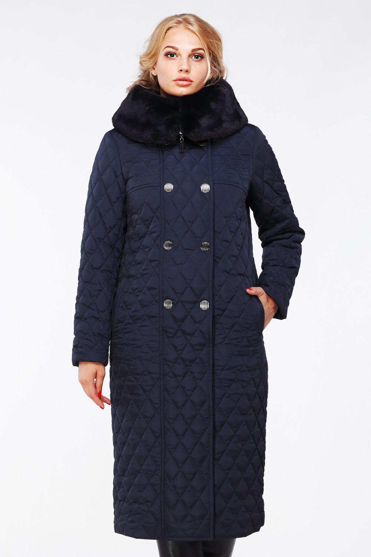 Пальто Дорис - Т.синий №91
