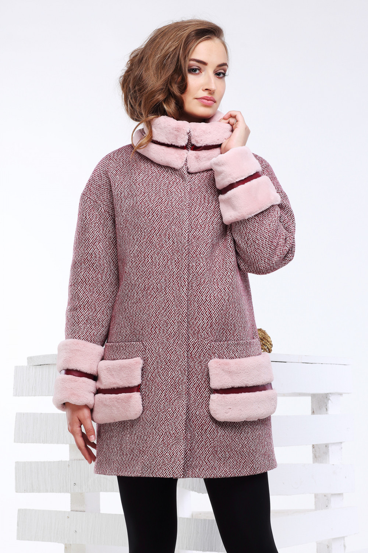 Пальто Кейлин - марсалла №7