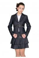 Пиджак Твигги  44-48 - Серый №1