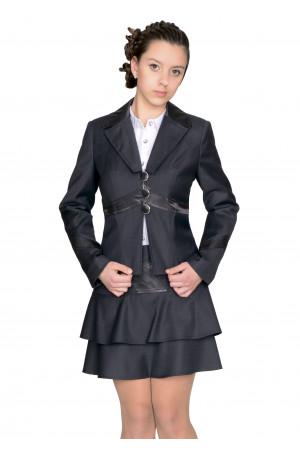 Пиджак Твигги  44-48 - Черный