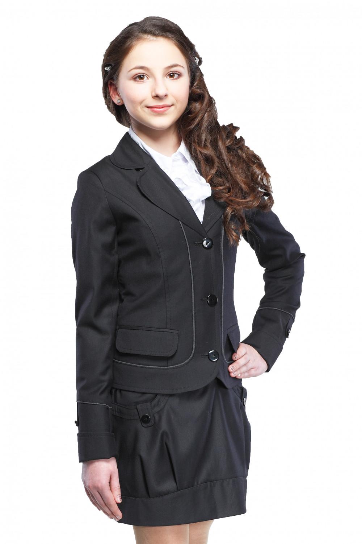 Пиджак Анютка 36-42 - Черный