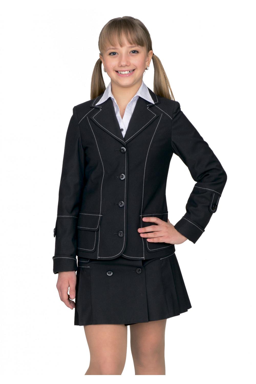 Пиджак Аринка 36-42 - Черный