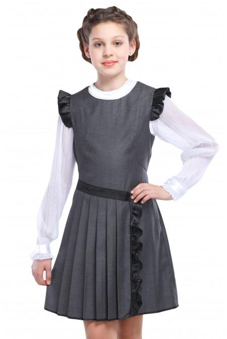 f8d8d3af445 Купить недорого школьный сарафан для девочки в Украине