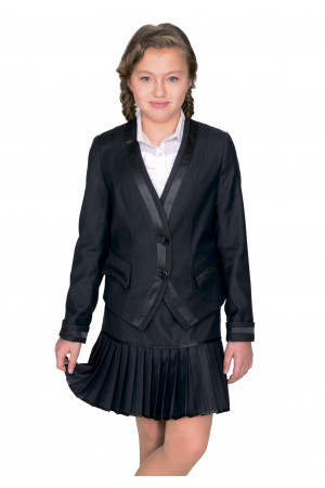 Пиджак Леся 36-42 - Черн.WN2757#1