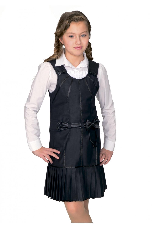 Сарафан Леся 36-42 - Черный