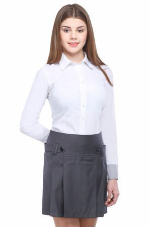 Юбка Маринка  44-48 - Серая WN2757#2