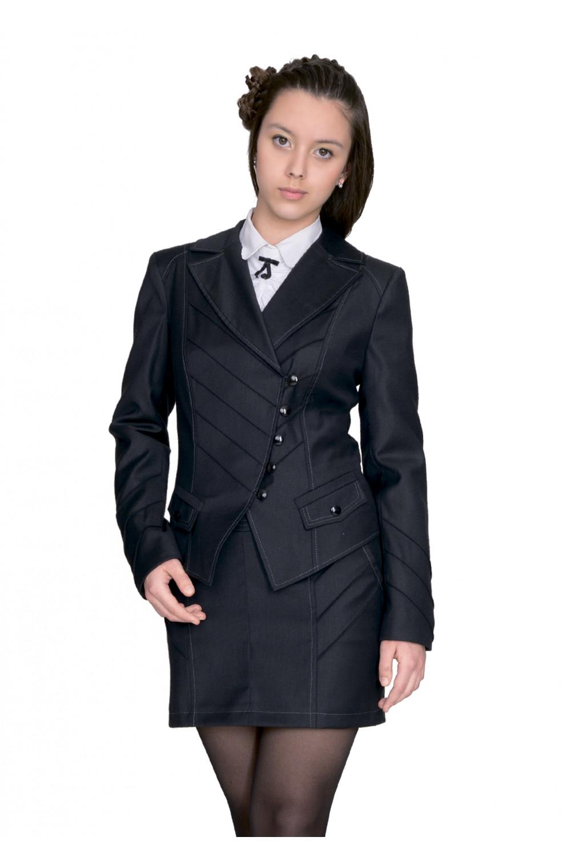 Пиджак Лика 36-42 - Черн.WN2757#1