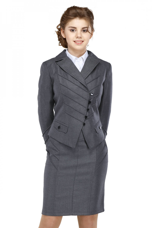 Пиджак Лика 36-42 - Серый