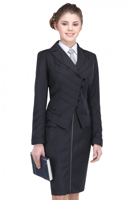 Пиджак Лика 44-48 - Черный