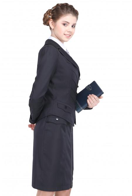 Пиджак Лика 50-54 - Черный