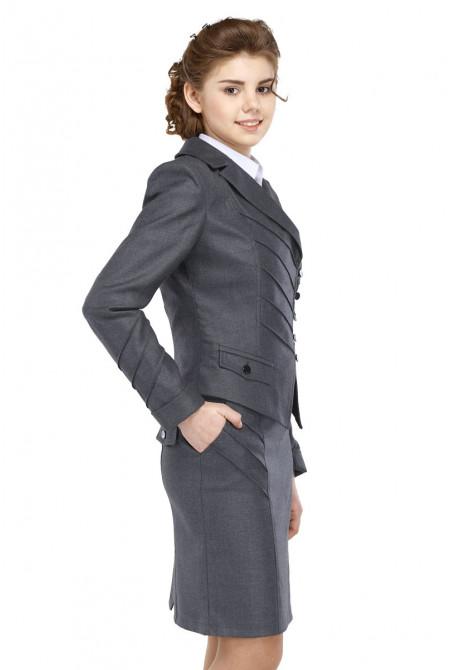 Пиджак Лика 50-54 - Серый