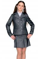 Пиджак Маринка  44-48 - Серый
